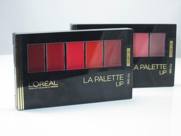 L'Oreal La Palette Lip
