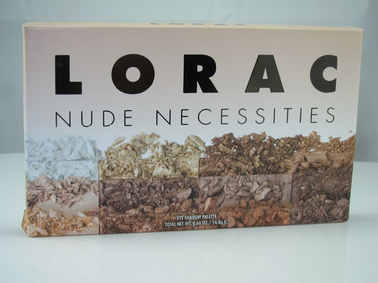 Lorac Nude Necessities Eyeshadow Palette Review & Swatches