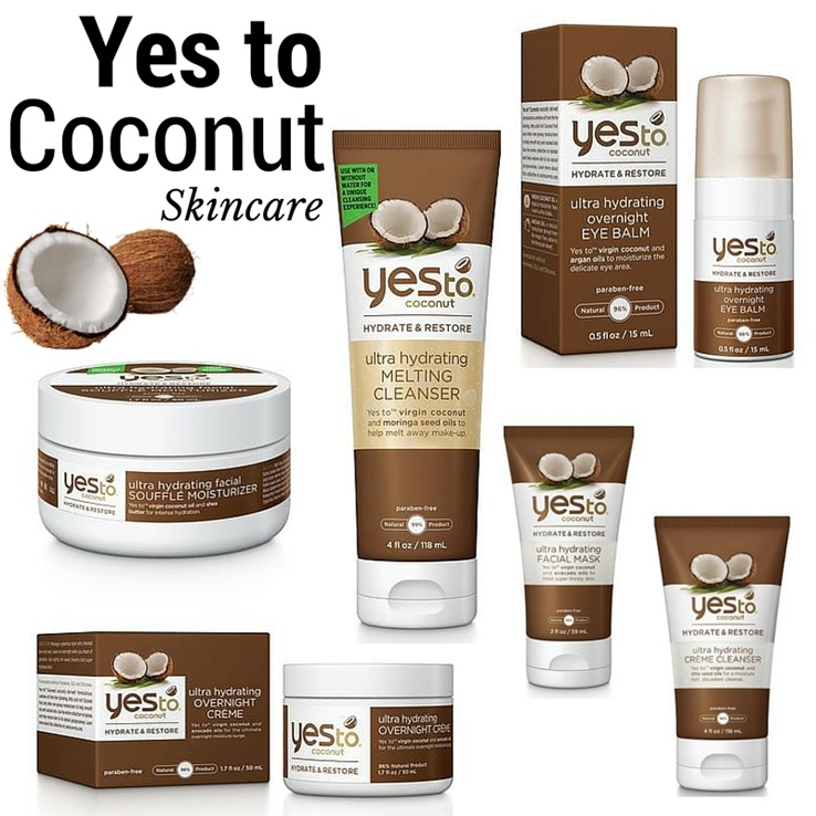 yes to coconut skincare spring 2016