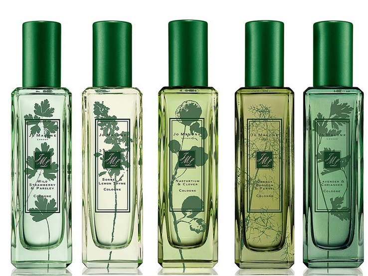 Jo Malone The Herb Garden Fragrance Collection for Spring 2016