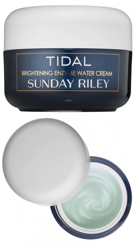 Sunday Riley Tidal Brightening Enzyme Water Cream Launches