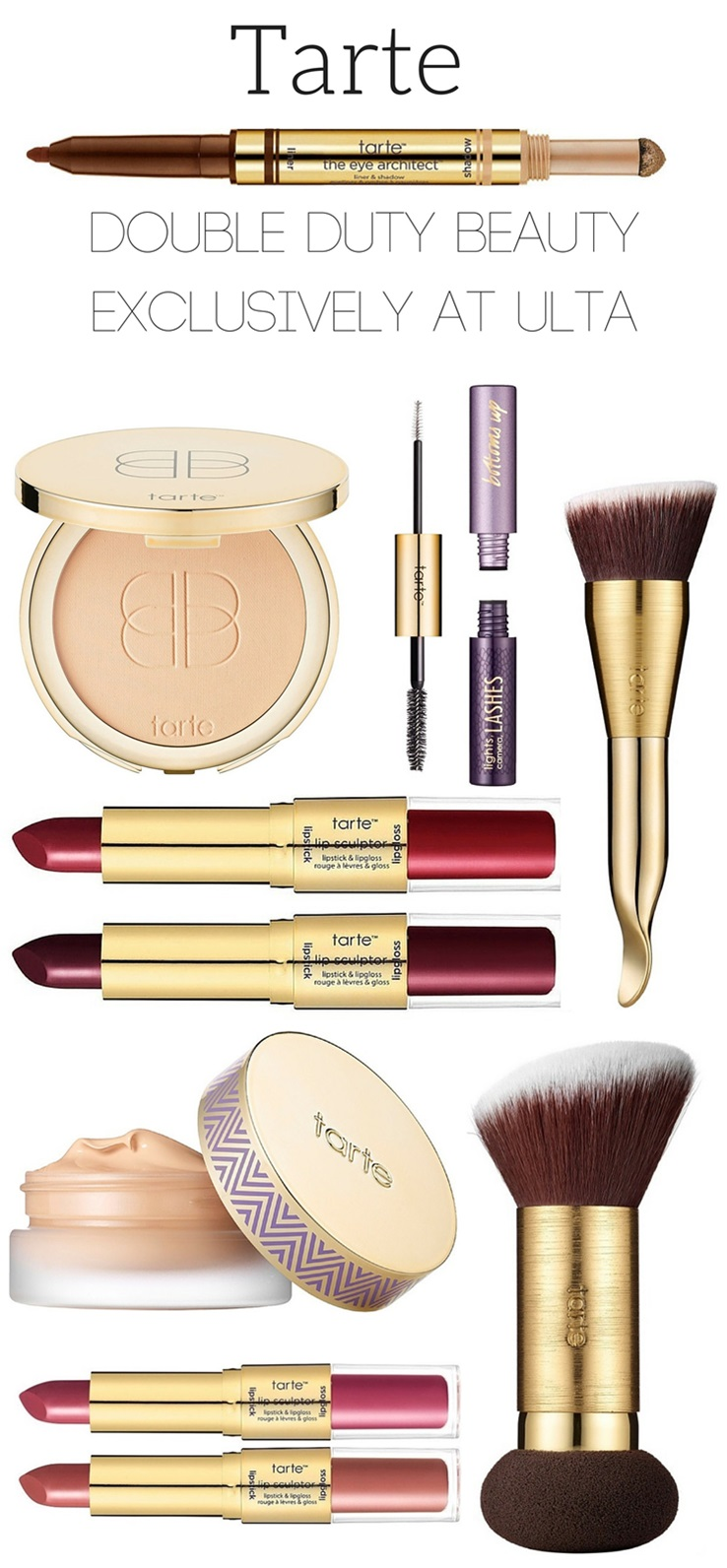 Tarte Double Duty Beauty Launching at Ulta 2/21