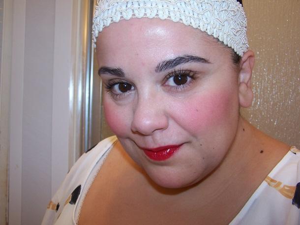 It Cosmetics Bye Bye Pores Blush fotd