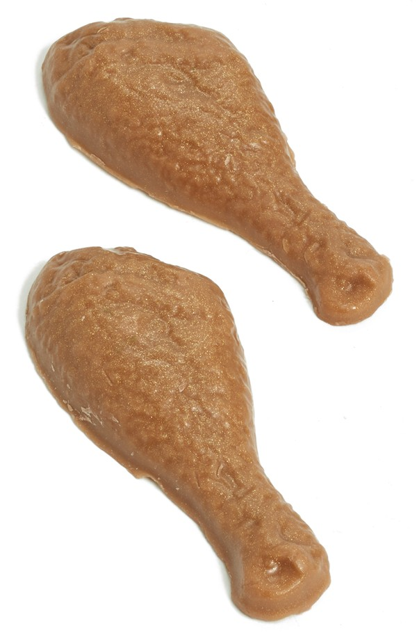 dirty girl chicken drumstick soap