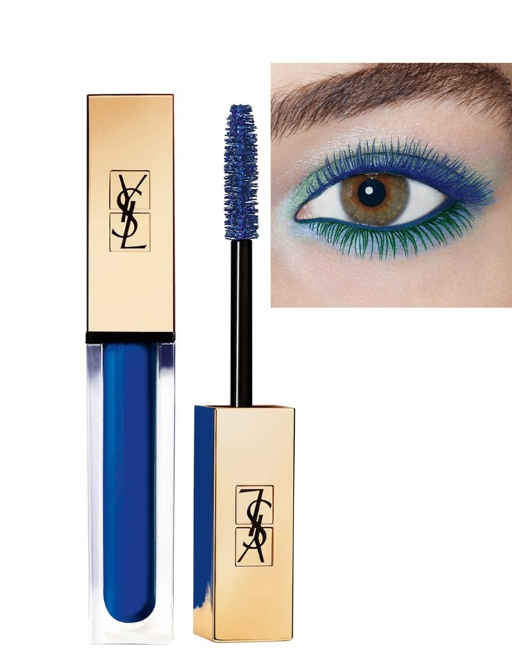 Yves Saint Laurent Mascara Vinyl Couture in Trouble Blue