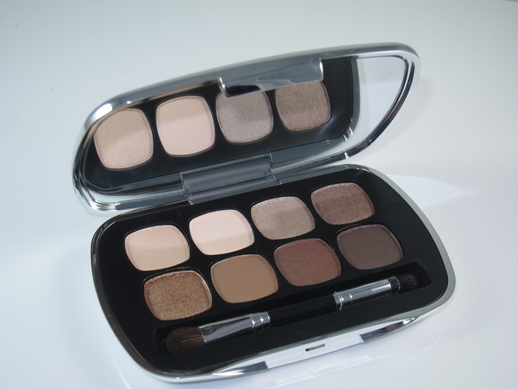 Bare Minerals The Bare Neutrals Ready Eyeshadow Palette Review & Swatches