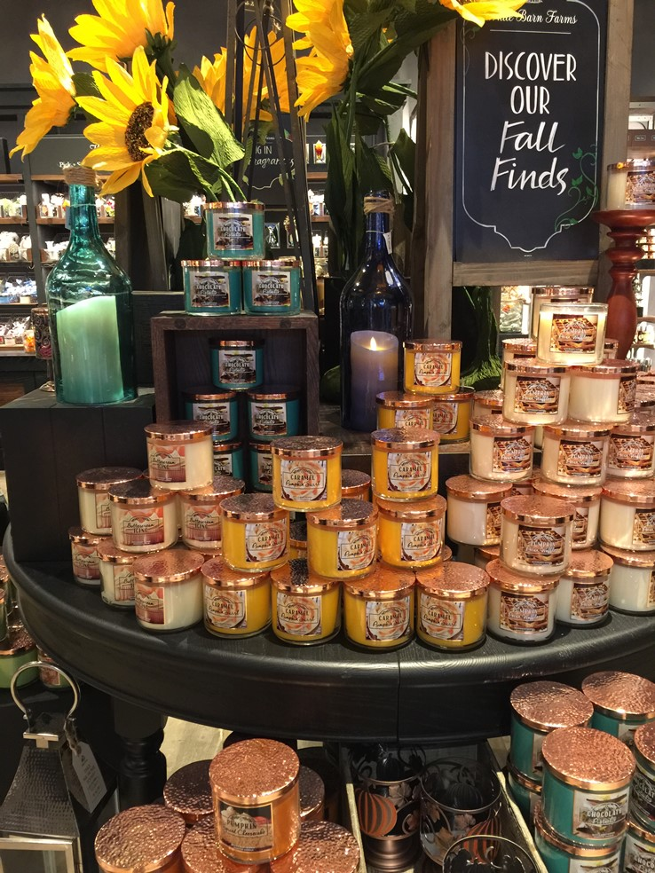 White Barn Candles Fall 2016