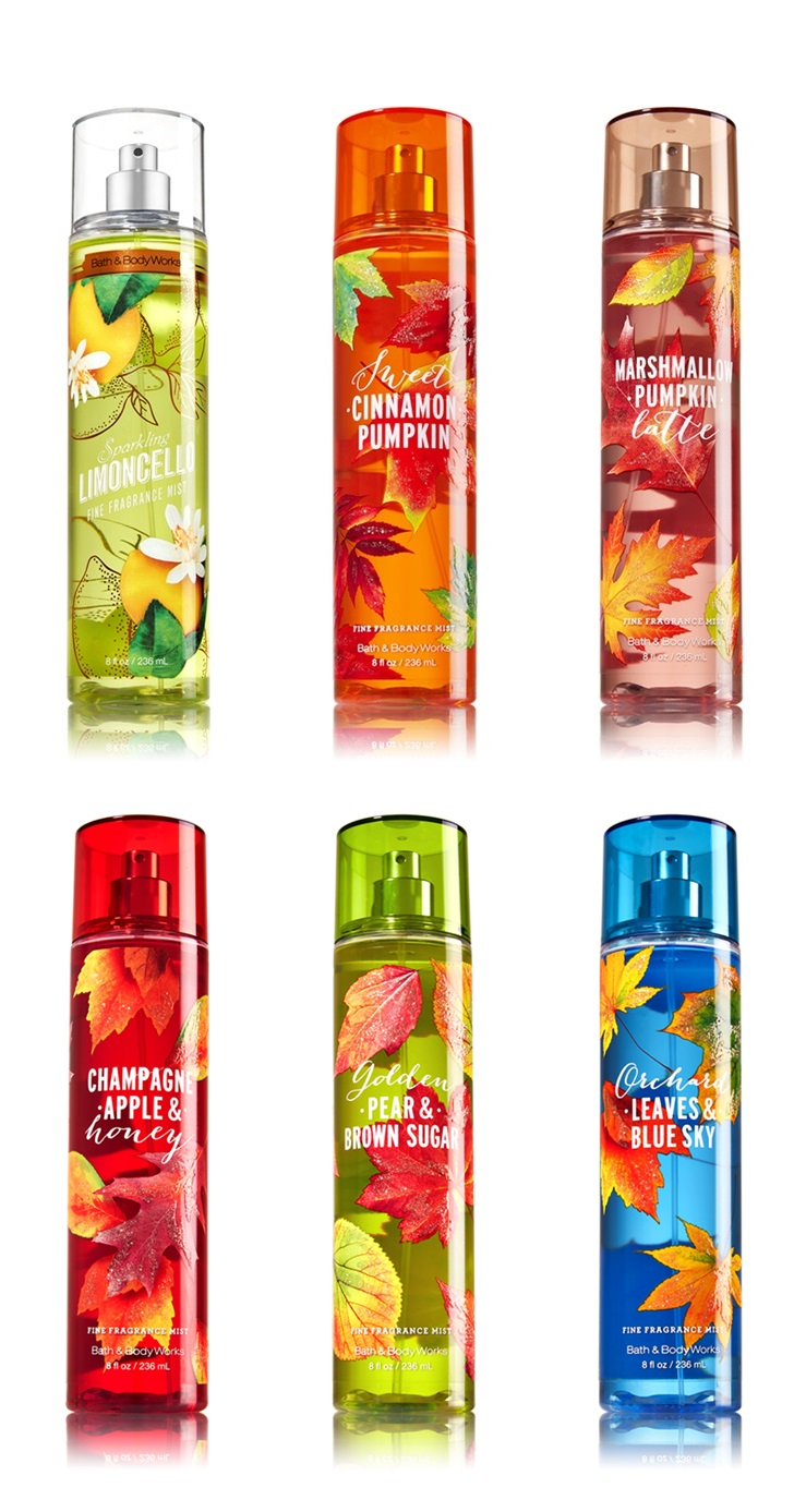 bath and body works fall 2016 signature