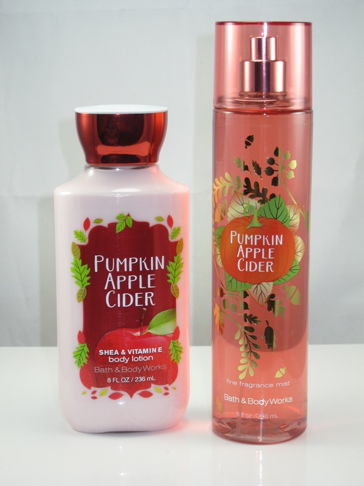 Bath & Body Works Pumpkin Apple Cider Fragrance