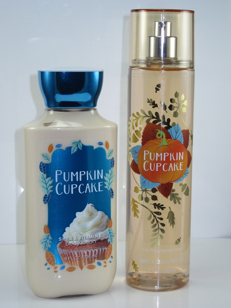 Bath & Body Works Pumpkin Cupcake Review