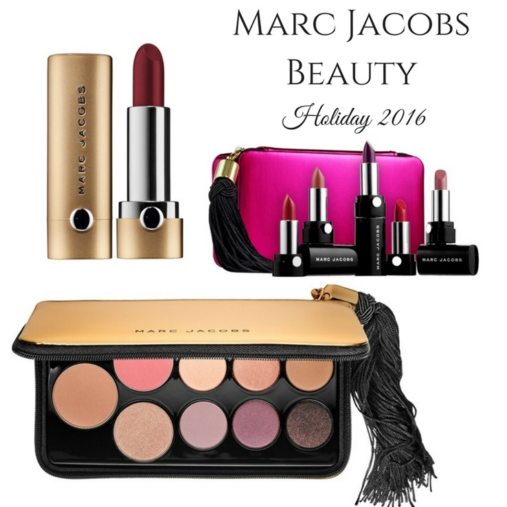 Marc Jacobs Beauty Holiday 2016 Featuring the Object Of Desire Face ...