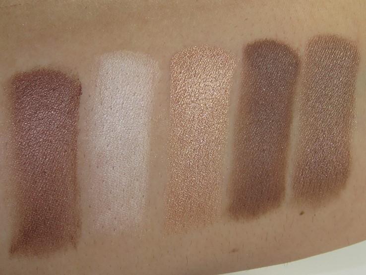 Tarte Color Vibes Amazonian Clay Eyeshadow Palette Swatches (Mosiac, Base Coat, Medium, A Beautiful Degas, Venus)
