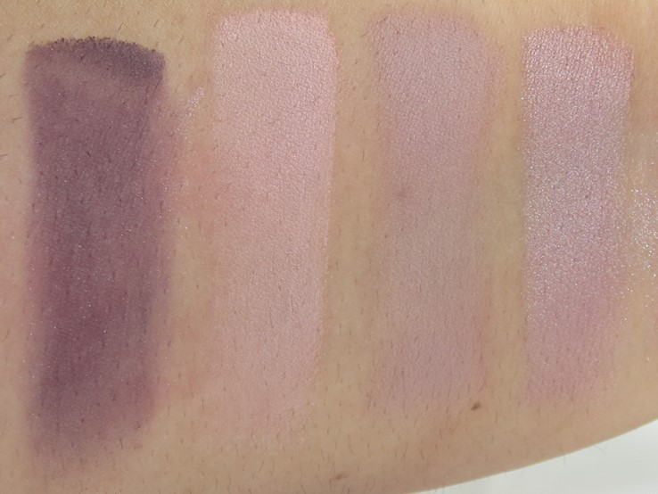 Tarte Pretty Paintbox Collector's Makeup Case Swatches (Still Life, Pastel, I Lourve It, Get Surreal)