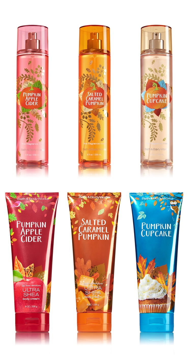 Bath & Body Works Pumpkin Lovers Rejoice