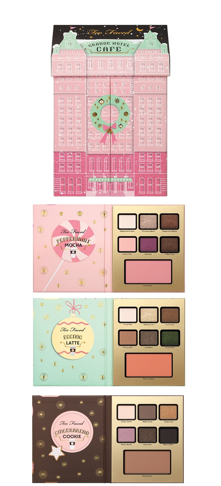 Tarte and Too Faced Holiday 2016 Available Now at Sephora