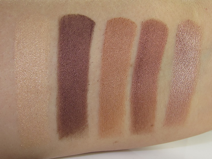 Anastasia Beverly Hills Master Palette by Mario Swatches (Hollywood, NYC, Kim, Muse, Marina)