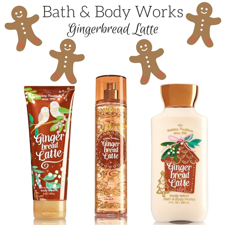 Bath & Body Works Gingerbread Latte Arrives for the Holidays!