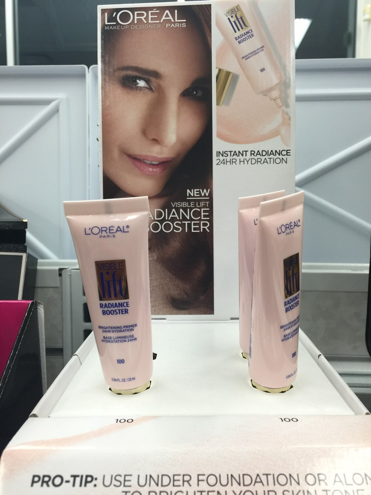 L?Oreal Visible Lift Radiance Booster Arrives