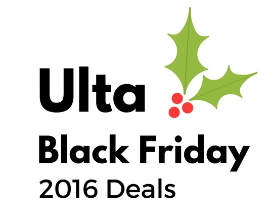Ulta Black Friday 2016 Steals and Deals