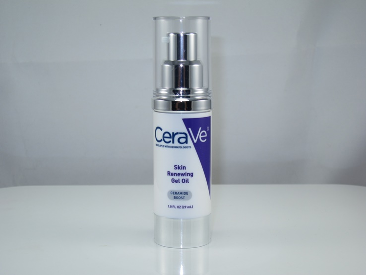 CeraVe Skin Renewing Gel Oil Review & Swatches