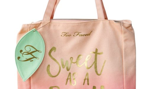 Too Faced Sweet As A Peach Tote So Hard To Resist