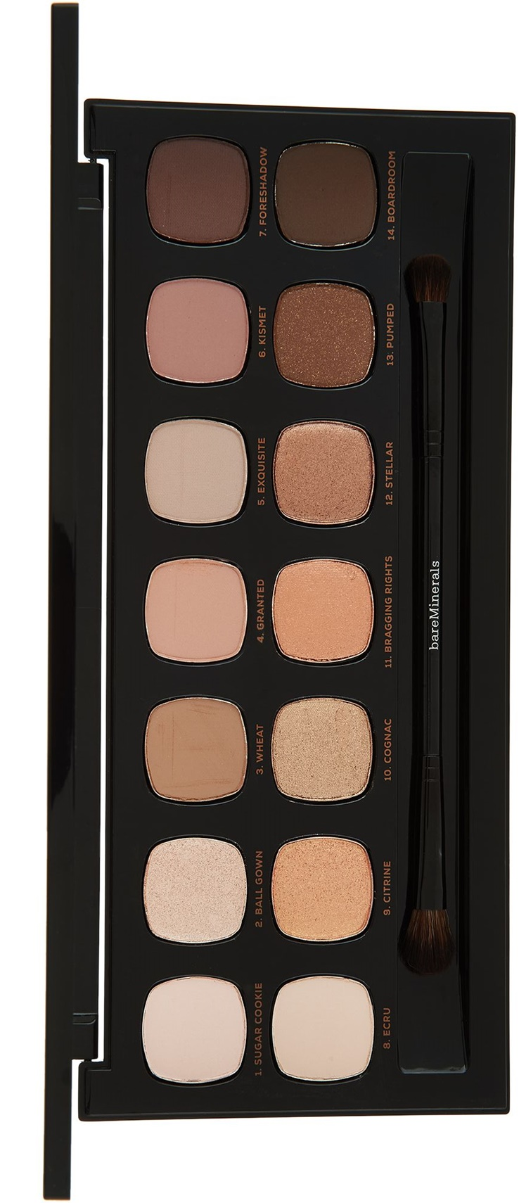 Bare Minerals The Bare Metals Ready Eyeshadow Palette at QVC