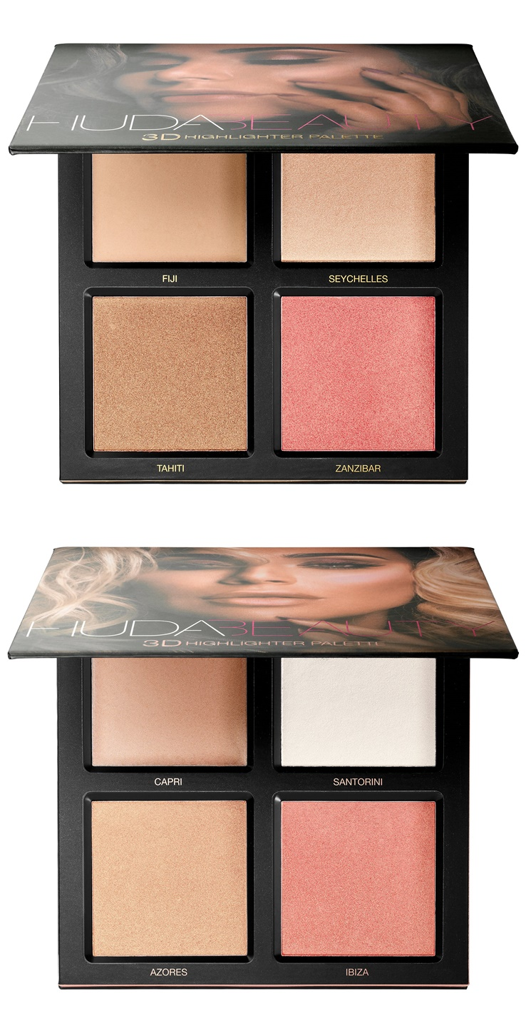 huda beauty 3d highlighter palette arriving at sephora. Black Bedroom Furniture Sets. Home Design Ideas