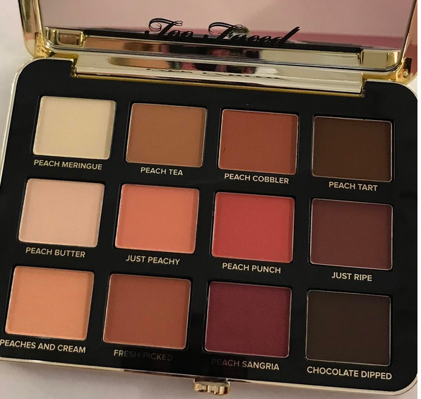 Just Peachy Two Faced Palette Natural Looks