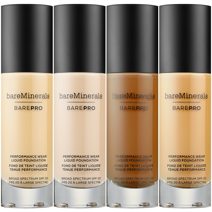 Bare Minerals barePro Performance Wear Liquid Foundation for Fall 2017