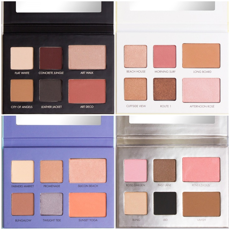 Lorac LA Eyeshadow Palettes Inspired by Santa Monica, Venice Beach, Beverly Hills, and More!