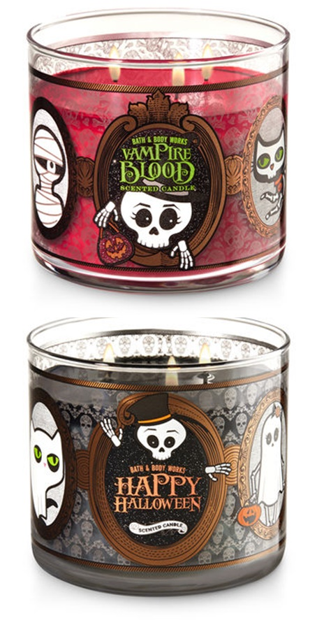 Bath & Body Works Halloween 2017 Candles Launch