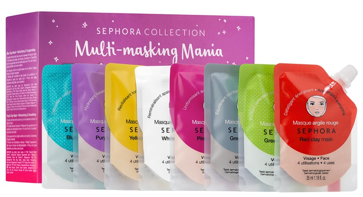 314d0763171 Sephora Multi-Masking Mania Clay Mask Blockbuster Set for Holiday 2017