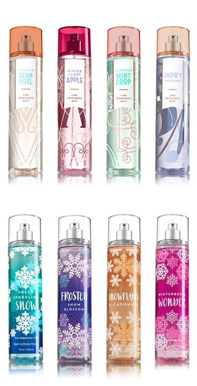 Bath & Body Works Holiday 2017 Signature Collection Returns with New Scents
