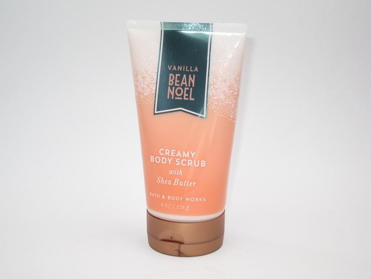 Bath & Body Works Vanilla Bean Noel Creamy Body Scrub Keeping Me Smooth and Soft