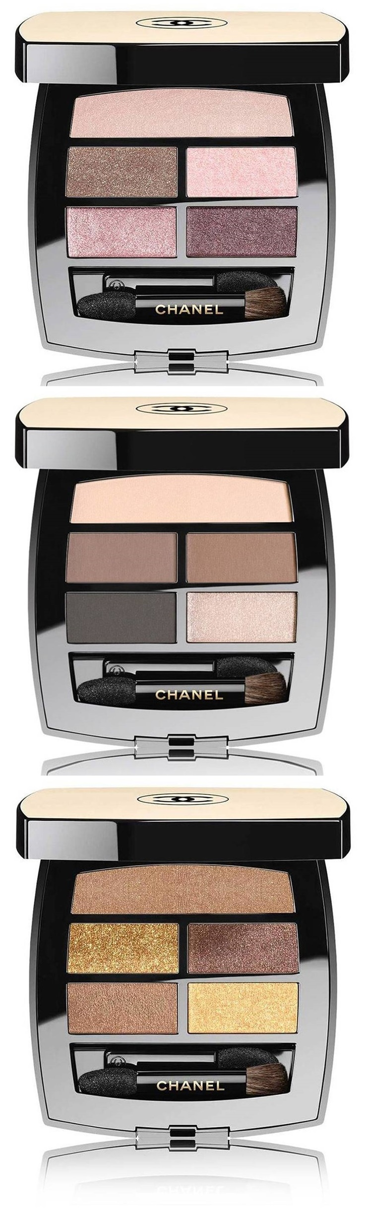 728d91e4a35 Chanel Les Beiges Healthy Glow Natural Eyeshadow Palette Extends Shade  Selection
