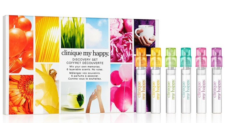 Clinique My Happy Discovery Set $8 + Free Shipping