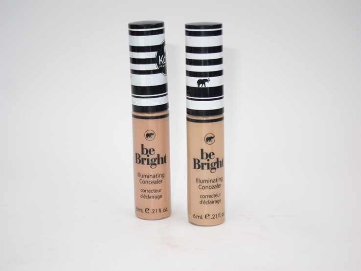Kokie Be Bright Illuminating Concealer review and swatches