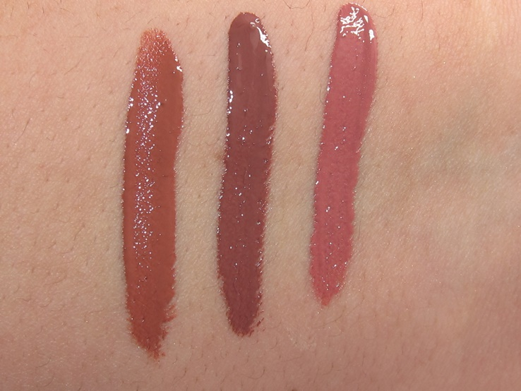 Milani Amore Shine Liquid Lip Color swatches