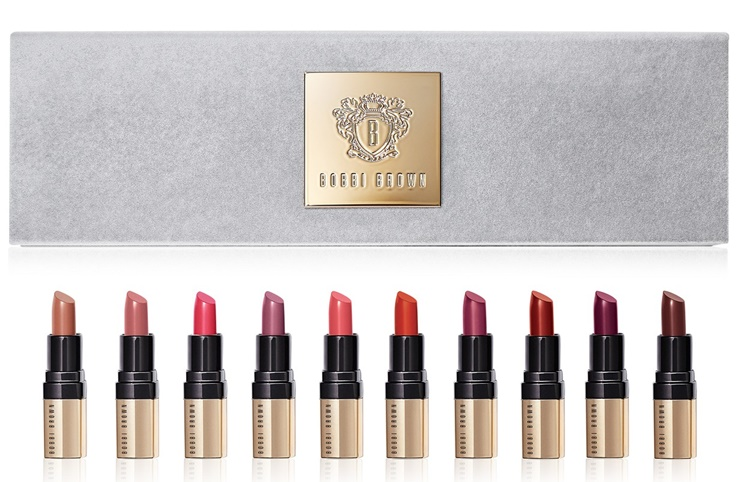 Bobbi Brown Luxe It Up Mini Luxe Lip Color Set On Sale + Free Shipping!
