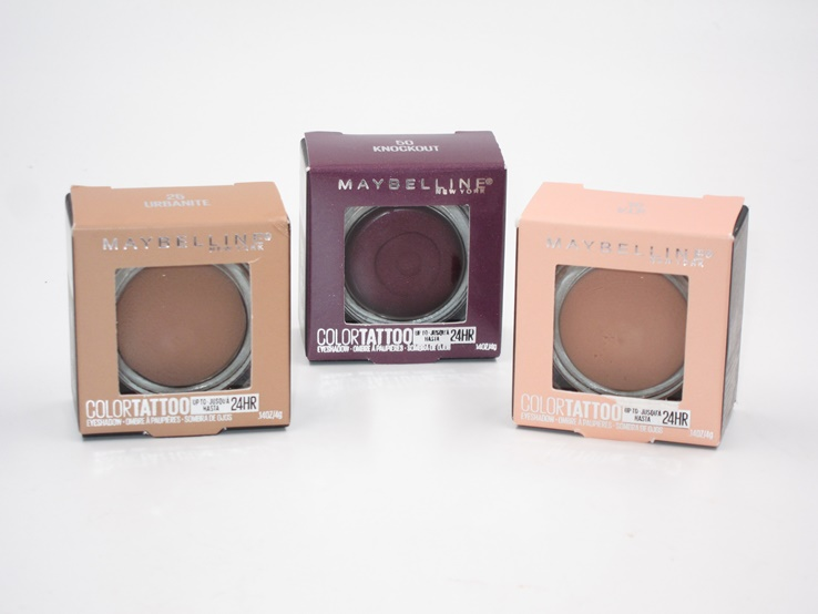 Maybelline Color Tattoo Cream Eyeshadow (2019) Review & Swatches