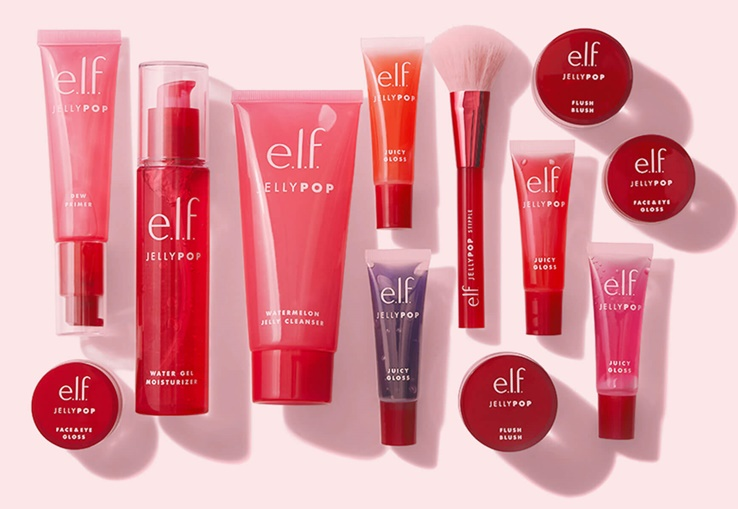 E.L.F. Cosmetics Jelly Pop Skincare and Makeup is a Fresh, Cool, Summer Pick!