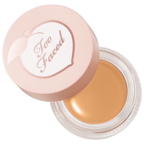 Hoping Too Faced Peach Perfect Instant Coverage Concealer is Like Maybelline Dream Matte Mousse Foundation