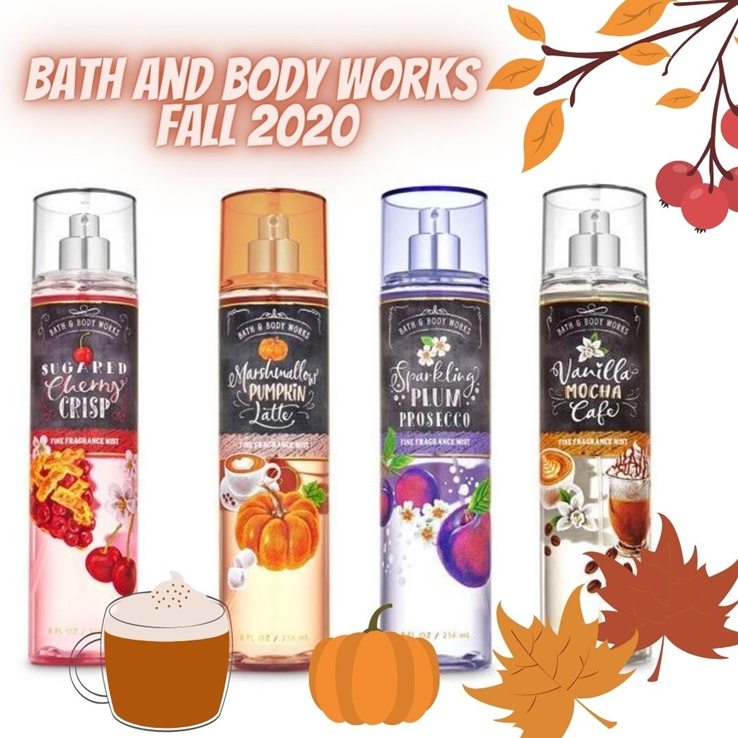 Bath And Body Works Christmas 2020 Bath & Body Works Fall 2020 Fragrance Mists Arrive With A Few New